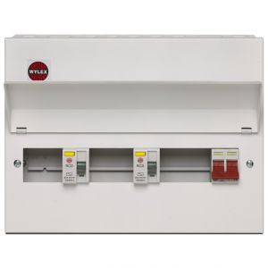 Wylex 7 Way Flexible High Integrity Metal Amendment 3 Cased Consumer Unit