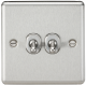 10A 2G 2 Way Toggle Switch-Rounded-CLTOG2BC-Knightsbridge