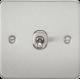 Flat Plate 10A 1G 2 Way Toggle Switch-FP1TO-Knightsbridge