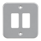 Metalclad 2G grid faceplate-GDFP002M-Knightsbridge