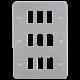 Metalclad 9G grid faceplate-GDFP009M-Knightsbridge