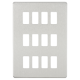 Screwless 12G grid faceplate-GDSF012-Knightsbridge