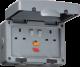IP66 13A RCD 2G Switched Socket-IPRCD-Knightsbridge