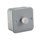 Metal Clad 1G 2 Way 60-400W Dimmer-M2161-Knightsbridge