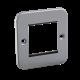 Metal Clad 2G Modular Faceplate-M2G-Knightsbridge