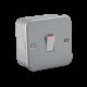 Metal Clad 20A 1G DP Switch-M8341-Knightsbridge