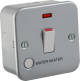 Metal Clad 20A 1G DP Switch with Neon & Flex Outlet