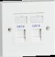 Twin Cat6 Outlet Kit-NET6KIT2-Knightsbridge