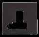 13A FCU SW + F/O PLATE - SCP151 - Scolmore