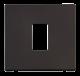 1G PLATE SINGLE APERTURE - SCP401 - Scolmore