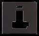 13A FCU SW + NEON (LOCK) PLATE - SCP452 - Scolmore