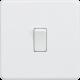 Screwless 10A 1G 2-Way Switch-SF2000MW-Knightsbridge-Matt  White