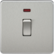 Screwless 20A 1G DP Switch with Neon-SF8341N-Knightsbidge