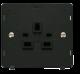 1G 13A DP SKT (2 EARTH) INSERT - SIN630 - Scolmore