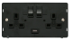 13A 2G SW SKT WITH 2.1A USB DEFINITY - SIN770 - Scolmore