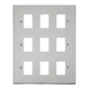 GRIDPRO 9 GANG DECO PLATE-VP**20509-Scolmore