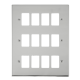 GRIDPRO 12 GANG DECO PLATE-VP**20512-Scolmore