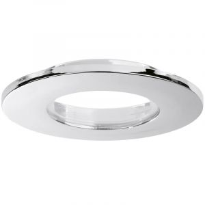 Aurora E5™ FIXED IP65 Polish Chrome ALUMINIUM DOWNLIGHT BEZEL EN-BZE5PC