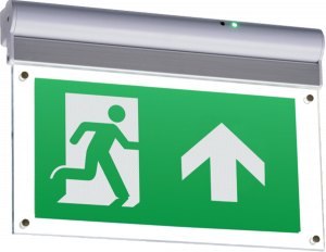 230V IP20 Wall or Ceiling Mounted LED Emergency Exit Sign COMES WITH UP ARROW