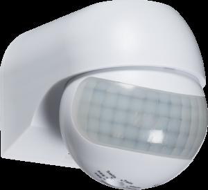 IP44 180° Mini PIR Sensor - White