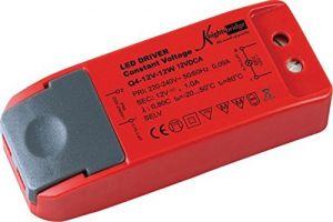 Knightsbridge IP20 12V 12W Constant Voltage LED Driver