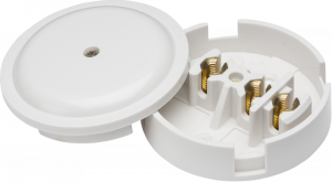 30A Junction Box 3-Terminal - White (89mm)