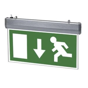 LED Emergency Lighting, IP65 Maintained Or Non Maintained Waterproof Fire Exit Sign