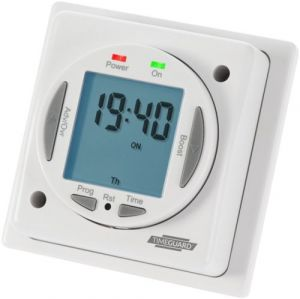 Compact 16A 24hr/7day Electronic Immersion Heater Timeswitch-NTT03-TIMEGUARD