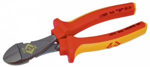 CK 431007 VDE Insulated High Leverage Diagonal Side Cutters 200mm 8