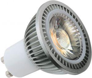230V 5W GU10 COB LED 4000K Cool White 440 Lumens (dimmable)