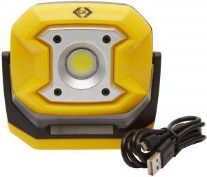 C.K T9530R LED Hand Torch Set, rechargeable-300, 300 Lumen LED Site Light 10W High Power LED