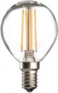 Knightsbridge 230V 4W LED 45mm Golf Ball SES CLEAR GB4SESC