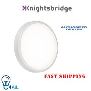 Knightsbridge LED Corridor Emergency Bulkhead, Polycarbonate, 20 W CCT [Energy Class A]