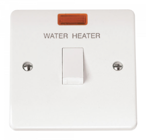 1-GANG D/P 20A WATER HEATER SWITCH WITH-CMA042-Scolmore