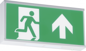 230V IP20 Wall Mounted LED Emergency Exit sign