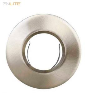 Enlite EFD Pro Satin Chrome 90mm Fixed IP65 Aluminium Bezel-EN-BZ93SN-ENLITE