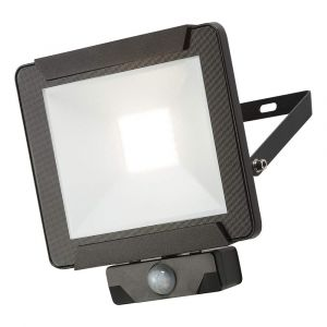 Details about  Knightsbridge 230V IP65 50W LED Floodlight with PIR Sensor 4000K Black