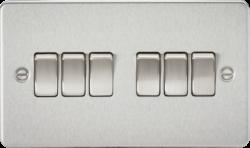 Flat Plate 10A 6G 2-way switch-FP4200-Knightsbridge