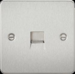Flat Plate Telephone extension socket-FP7400-Knightsbridge