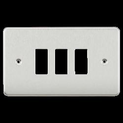 Flat plate 3G grid faceplate-GDFP003-Knightsbridge