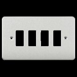 Flat plate 4G grid faceplate-GDFP004-Knightsbridge