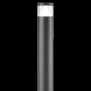 Knightsbridge 230V IP54 GU10 Garden Post Light/Bollard - 1100MM