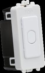 1G 2-way 10-200W (10-100W LED) trailing edge dimmer (Press Type)-GDM014-Knightsbridge