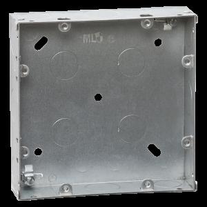 6-8G 35mm galvanised steel box-GDSG68G-Knightsbridge