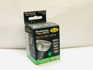 GU10 WARM WHITE 5 WATT LED