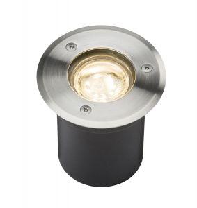 Knightsbridge 230V IP65 3W LED Stainless Steel Recessed Ground Light 3000K