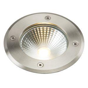 Knighsbridge 230V IP65 6W LED Stainless Steel Recessed Ground Light 3500K