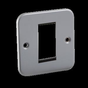 Metal Clad 1G Modular Faceplate-M1G-Knightsbridge