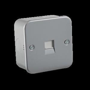 Metal Clad Telephone Master Socket-M7300-Knightsbridge