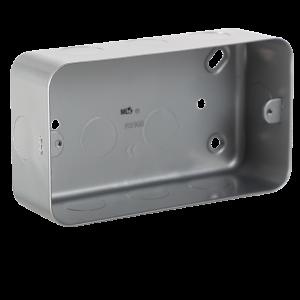 Metal Clad 2G Back Box-M8900-Knightsbridge